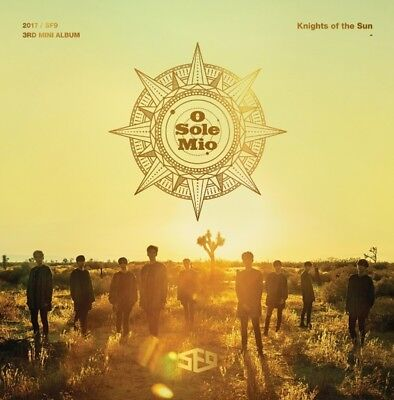 K-POP SF9 3rd Mini Album [Knights of the Sun] CD+72p Booklet+2p Photocard Sealed