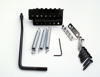 Electric Guitar Tremolo Bridge Vibrato Black Finish Strat Electric Guitar UK