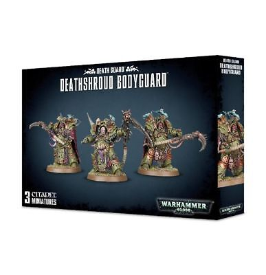 Warhammer 40000 Death Guard Deathshroud Bodyguard Brand New
