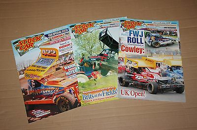 Stock Car Magazine x 3, 2012 (March, May, June)