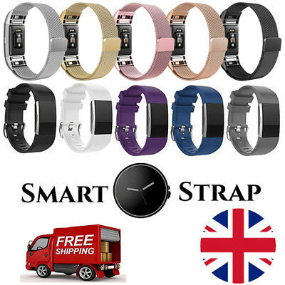 For Fitbit Charge 2 Band Replacement Wristband Watch Strap Loop Bracelet