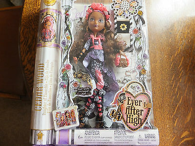 Ever After High - Spring Unsprung - Cedar Wood Doll - Suitable Ages 6+