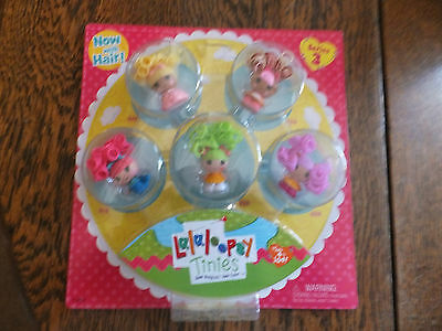 Lalaloopsy Tinies - Now With Hair - Series 3 - 5 Doll Pack - Suitable Age 4+