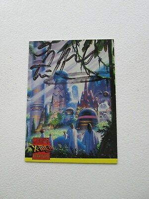 X-Men Oasis trading card By The Brothers Hilderbrandt Autograph