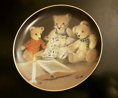 Franklin Mint Sue Willis Story hour Plate