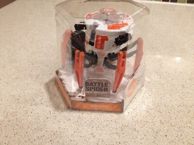 Hex Bug 477-3063 Hexbug Battle Spider White And Orange