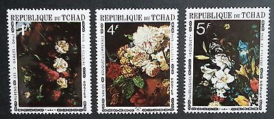 Chad (1971) Flowers / Paintings / Art / Flora - Mint (MNH)