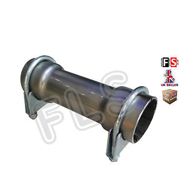 UNIVERSAL EXHAUST BACKBOX PIPE CONNECTOR SLEEVE JOINT ADAPTER 60MM  BMW 1
