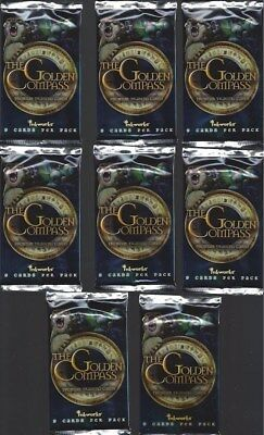 8 Pack / Packs Lot Sealed Golden Compass Inkworks Kidman Craig