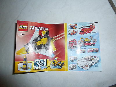 Collect Lego Slovak Activity Book+3  Instruction Manuals Only 5763,31001,1264