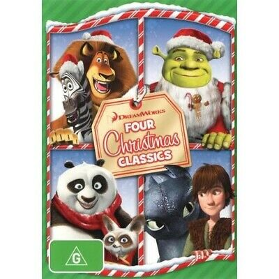 Dreamworks: Four Christmas Classics (Merry Madagascar/Kung Fu Panda Holiday/Shre