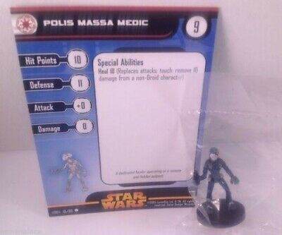 Star Wars Revenge of the Sith 16/60 Polis Massa Medic (C) Miniature
