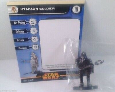 Star Wars Revenge of the Sith 52/60 Utapaun Soldier (C) Miniature