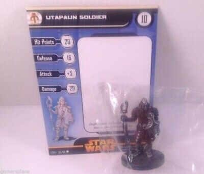 Star Wars Revenge of the Sith 53/60 Utapaun Soldier (C) Miniature