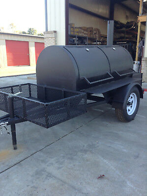 500 Gallon BBQ Smoker - Super Nice - Brand New Barbeque Cooker - CHEAP