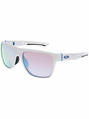 Oakley Men's Crossrange OO9360-08 White Square Sunglasses