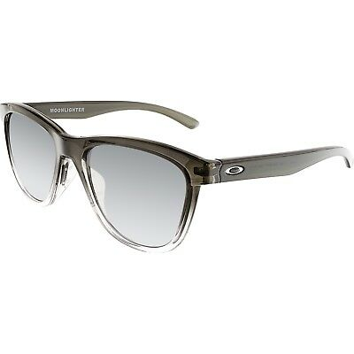 Oakley Women's Moonlighter OO9320-07 Black Square Sunglasses