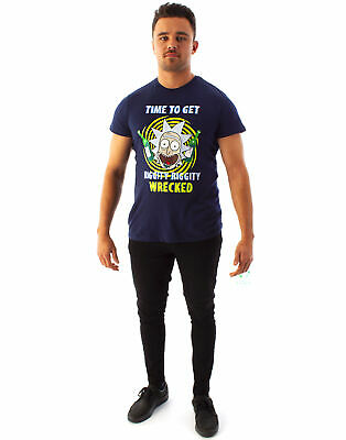 RICK AND MORTY ITS TIME TO GET RIGGITY RIGGITY WRECKED SON T SHIRT PH283 T-SHIRT
