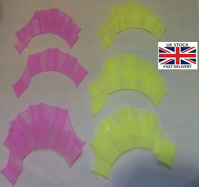 Silicone Webbed Gloves for Swimming.Kids,Adults 1pair-UK STOCK-FREE UK P&P
