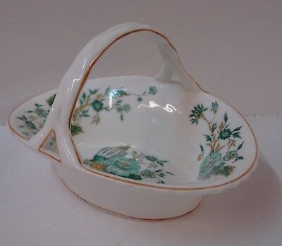 "Crown Staffordshire KOWLOON Handled Basket (5-3/4"")"