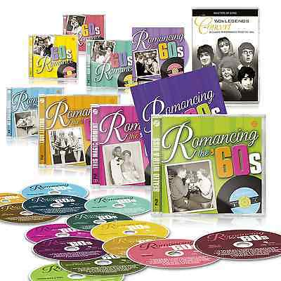 Romancing the 60s 14 CD Deluxe Edition Set + Bonus CD + Free DVD + Booklet