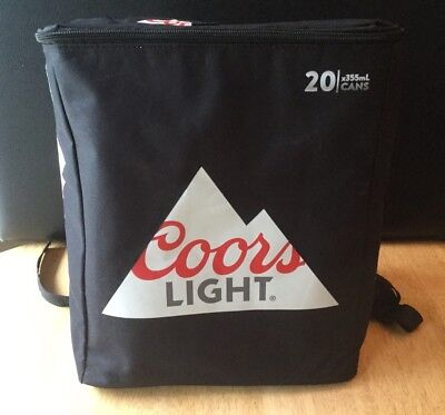Coors Light Chiller Pack Backpack 20 Cans Beer