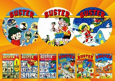 Buster Comics - Annuals - Specials On 3 DVD Rom's