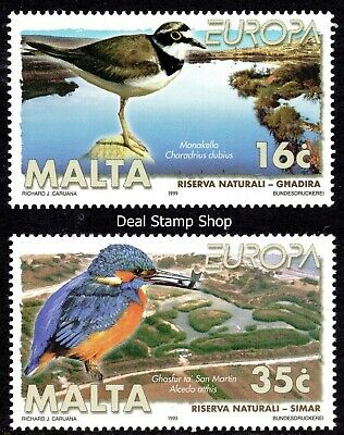 Malta 1999 Europa Complete Set SG 1098 - 1099 Unmounted Mint