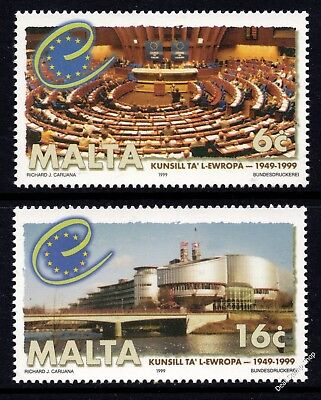 Malta 1999 Council of Europe Complete Set SG 1100 - 1101 Unmounted Mint