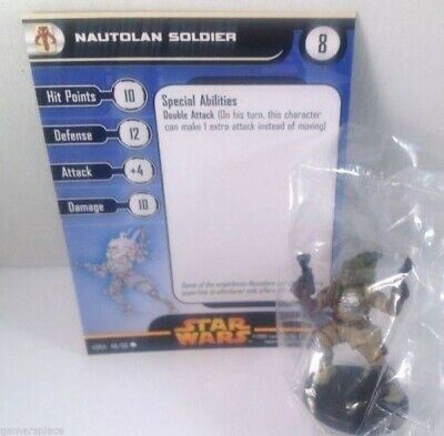 Star Wars Revenge of the Sith 49/60 Nautolan Soldier (C) Miniature