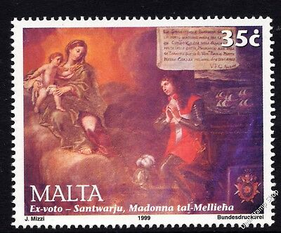 Malta 1999 Mellieha Sanctuary Commemoration Complete Set SG 1132 Unmounted Mint