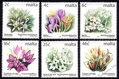 Malta 1999 Definitive Additions SG 1135, 37, 39, 1143, 1146 1148 Unmounted Mint