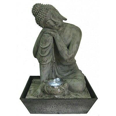 Fontaine Décorative Zen XL Sublime Bouddha Eclairage à Led