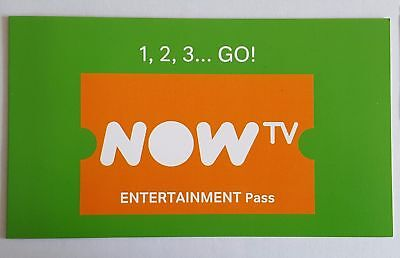 Now Television 2 Month Entertainment Pass (Tv) ***all Tested And Working***