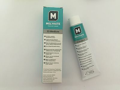 MOLYKOTE 33 Medium Dow Corning Low Temperature Grease 100g