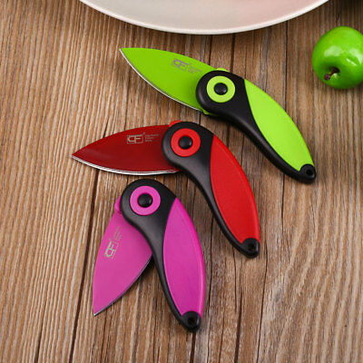 Bird-Shaped Survival Pocket Knife Home Fruit Cake Folding Knives Tools