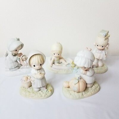 PRECIOUS MOMENTS January August September October November Figurines RETIRED