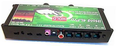 """ihold a4lpro """"all-in-one"""" professional 4-line music on hold player system for"""