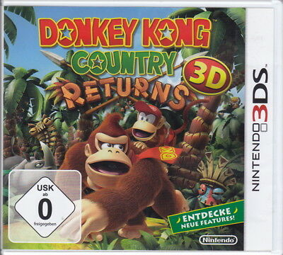 Donkey Kong Country Returns 3D  (3DS) In Box