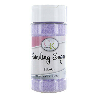Sanding Sugar Lilac 4 Ounces by CK