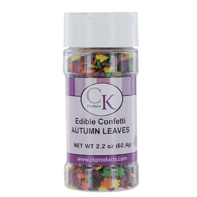 Autumn Leaves Sprinkles, 2.2 Ounces by CK