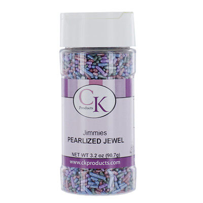 Jimmies Pearlized Jewel 3.2 Ounces by CK