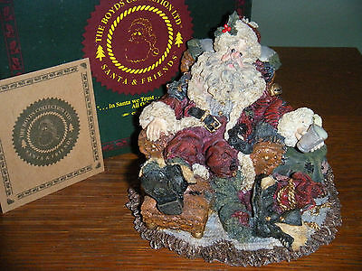 Boyds Bears Santa & Friends ~1E DECEMBER 26~ STYLE #3003