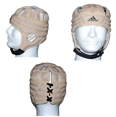 Mens ADIDAS Rugby Scrum Cap Head Protection Size Medium Ventilated Guard Hat