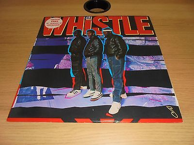 """WHISTLE - Self Titled Vinyl LP - inc 12"""" Remix Disc of Just Buggin'"""