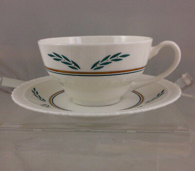 Vintage Hanover China CORONATION Cup & Saucer NOS