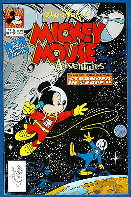 MICKEY MOUSE ADVENTURES # 16 (Disney Comics 1990)  (vf)