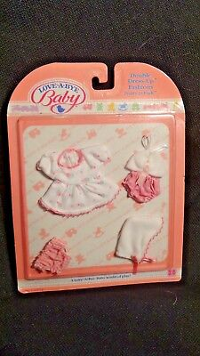 Vintage Love A Bye Baby Hasbro Doll Clothes Dress Up Fashions Mip