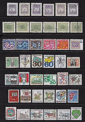 CZECHOSLOVAKIA - mixed collection No.26, incl Postage Due