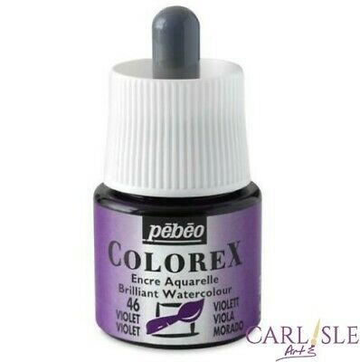 Pebeo Colorex Ink 45ml Choose your Colour By One.
